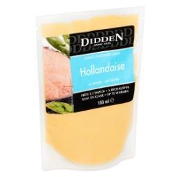 Sauce culinaire hollandaise au beurre - prête à l'em...