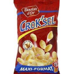 Crok'sel, biscuits soufflés à base de pomme de terre