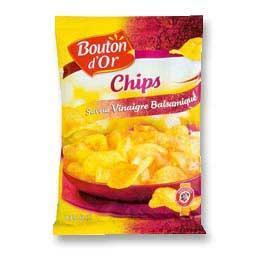 Chips saveur vinaigre balsamique