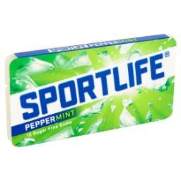 Peppermint chewing gum sans sucre - avec édulcorants