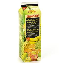 Multivitamines - cocktail de nectars de 12 fruits