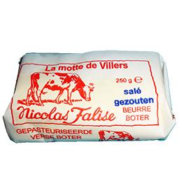 La motte de villers - beurre frais salé et pasteur