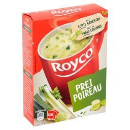 Minute soup - poireaux