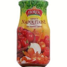 Sauce napolitaine aux légumes cuisinés