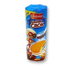 Biscuits goûter crok' parfum choco et lait