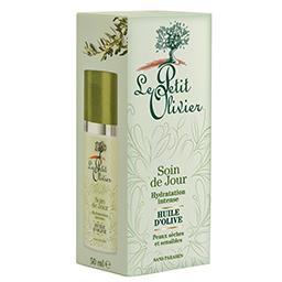 Soin de jour - hydratation intense - huile d'olive -...
