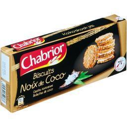 Biscuit gourmand noix de coco
