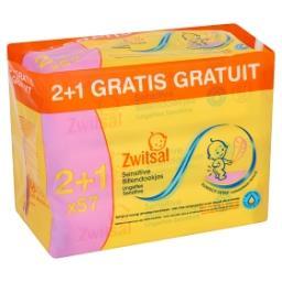 Lingettes Humides Sensitive (2 + 1 Gratis)