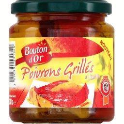 Poivrons grillés à l'huile