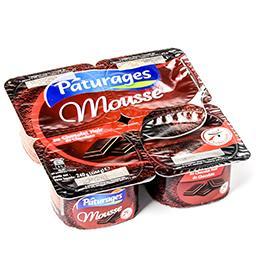 Mousse au chocolat noir