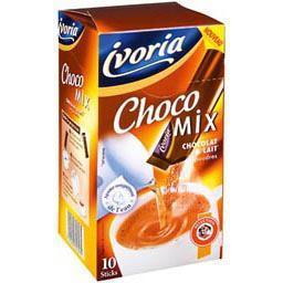 Chocolat en poudre & lait écrémé choco mix