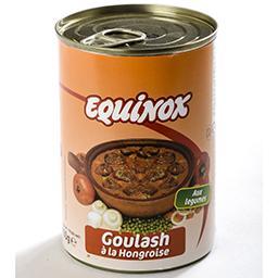 Goulash à la hongroise aux légumes