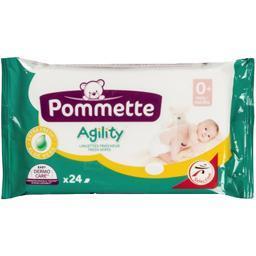 Agility - lingettes de toilette bébé, aloe vera