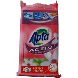 Activ' - lingettes multi-surfaces, flowers