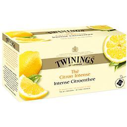 Thé citron intense