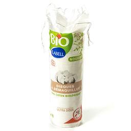 Disques à démaquiller - ultra doux - 100% coton biol...