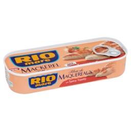 Maquereaux à la sauce tomate - fillets -  riche en o...