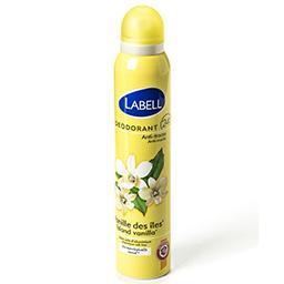 Déodorant vanille des îles - anti-traces