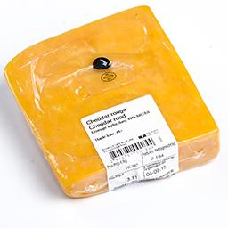 Cheddar rouge - fromage à pâte dure - 48%