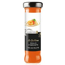 Le Sublime coulis d'abricots 75% de fruits