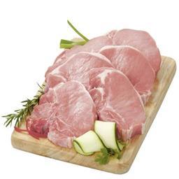 Côtes au filet désossées de porc
