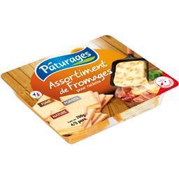 Assortiment de fromages pour raclette