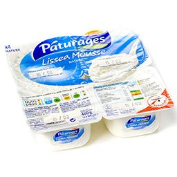 Lissea mousse - fromage frais sous mousse de crème f...