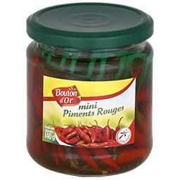 Mini piments rouges