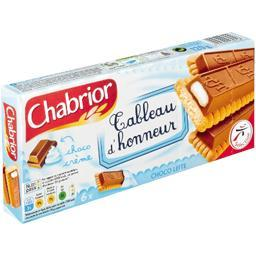 Tableau d'honneur chococrème, biscuits avec barre de...