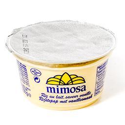 Riz au lait - saveur vanille