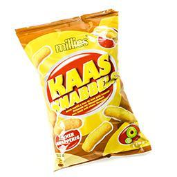 Kaas knabbels - snack soufflé à base de maïs goût fr...