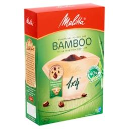 Filtres à café - bambou - 1x4