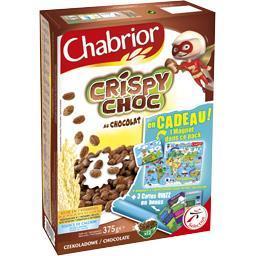 Céréales crispy choc au chocolat