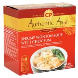 Authentic Asia Soupe de Raviolis Chinois aux Crevett...