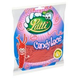 Candylace - fraise - lacets à tresser au goût de fra...