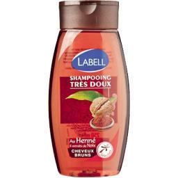 Shampooing très doux au henné & extraits noix, cheve...