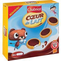 Biscuits mini coeur de lait