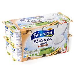 Naturea - yaourt sucré au sucre de canne