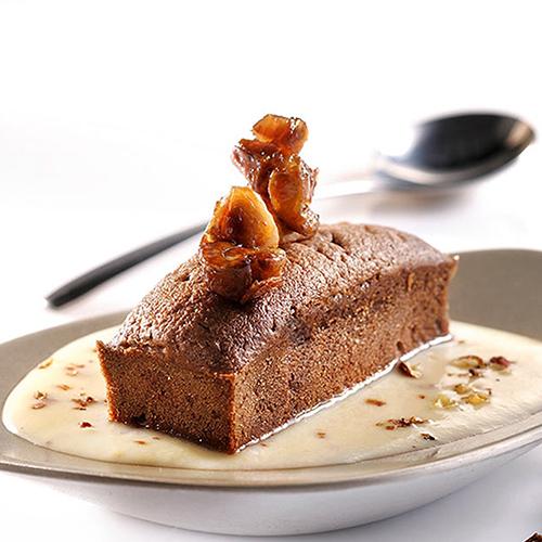 Cake au chocolat et aux marrons