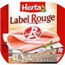 Herta Tendre Noix - Jambon Label Rouge la barquette de 4 tranches - 120 g