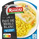 Claude Léger Pavé de merlu blanc sauce citron riz safrané la barquette de 300 g