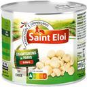 Saint Eloi Champignons de Paris entiers 1er choix les 3 boites de 115 g net égoutté