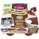 Crème dessert Chocolat x4 400g - Pivette et Palorette