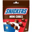 Snickers Mini Cubes chocolat au lait fourré caramel et cacahu... le paquet de 200 g