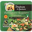Itinéraire des Saveurs Parmigiano Reggiano copeaux affiné 12 mois minimum le sachet de 80 g