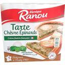 Monique Ranou Tarte chèvre épinards la boite de 400 g