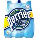 Perrier Finement pétillante, Eau minérale naturelle renforcé... le pack de 6 bouteilles de 1L - 6L
