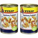 Tulip Saucisses Cocktail les 2 boites de 200 g net égoutté