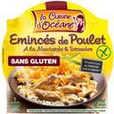 La Cuisine d'Océane Emincés de poulet à la moutarde & torsades la barquette de 280 g