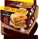 Jean Rozé Hamburger Le Pork BBQ les 2 burgers de 200g